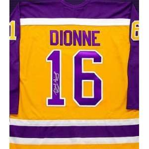 Marcel Dionne Autographed Hockey Jersey (Los Angeles Kings):