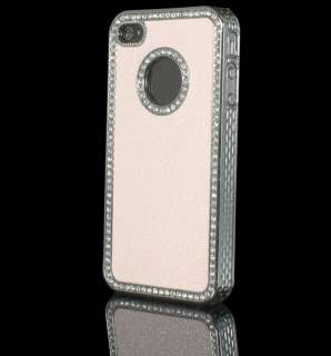 Luxury Bling Diamond Rhinestone Hard Case Cover For Apple iPhone 4 4G