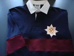 IRISH GUARDS EMBROIDERED RUGBY SHIRT