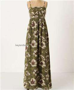 Anthropologie Edme & Esyllte Cultivated Maxi Dress Size 4 6 10