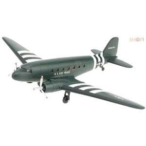 DC 3 Classic Double Engines Airplane Model Kit