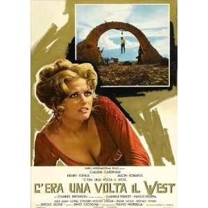 era una volta il West Poster Italian B 27x40 Henry Fonda Claudia