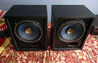 REHDEKO RK 15 vintage FRENCH RARE SPEAKERS PAIR EXC!! HIGH END