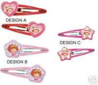 Strawberry Shortcake Hair Clips Accessories