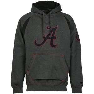 Alabama Crimson Tide Charcoal Class Act Big Logo Hoody
