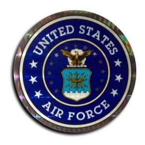 Air Force   3 in. US Air Force reflective seal Patio