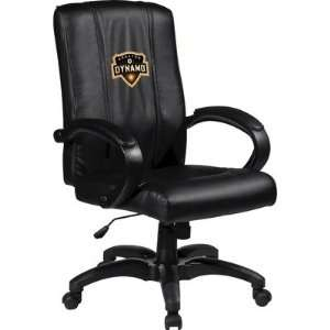 Office Chair with MLS Logo Panel Team Houston Dynamo Office Products