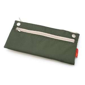 Nomadic PN 04 Snap Button Pencil Case   Khaki Green Cell