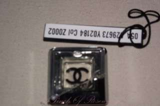Authentic Chanel Crystal CC Square Pin Brooch Broken
