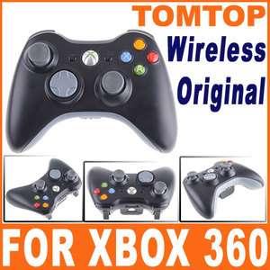 Genuine Microsoft xBox 360 Wireless Controller Black