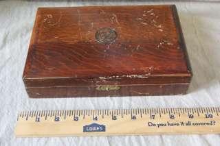 L72 VINTAGE WOOD COLT PISTOL GUN PRESENTATION BOX