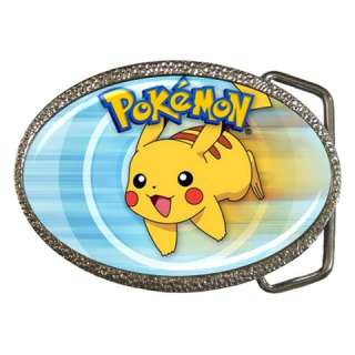 Pokemon Pikachu Belt Buckle Mens Gift Cool NEW
