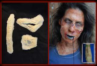 Halloween/Foam latex/Zombie/Gen. Wounds/Mask/lot.