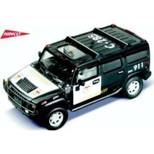 1/32 Ninco Analog Slot Cars   Hummer H2   County Sheriff