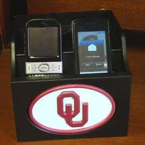 Oklahoma Sooners OU NCAA Charging Station  Sports