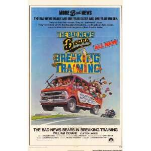The Bad News Bears in Breaking Training Movie Poster (11 x