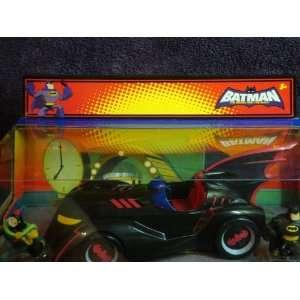 Batmobile Animated Set With 3 Fligures Series Collectible