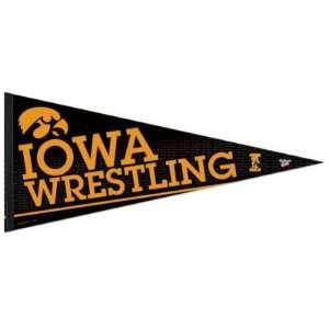 Iowa Hawkeyes Official Logo 17x40 Premium Felt Pennant