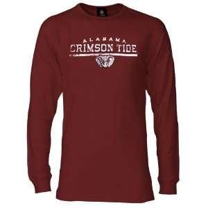 Tide Crimson Lifer Long Sleeve Thermal T shirt