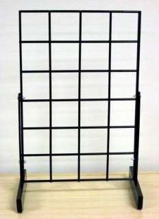 of Freestanding Counter / Table Top Grid Rack Display 12x18