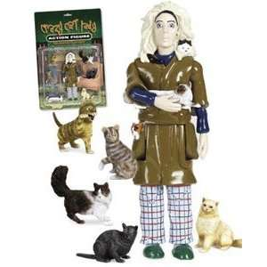 Crazy Cat Lady Action Figure Doll Toys & Games