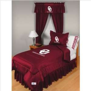 Bundle 56 University of Oklahoma Comforter   Full/Queen