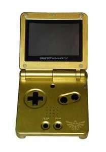 Nintendo Game Boy Advance SP Legend of Zelda Gold Handheld
