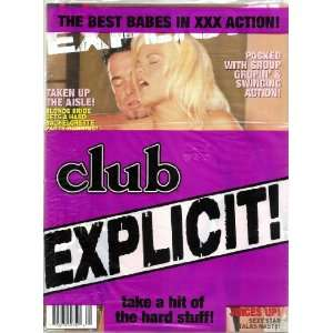 BEST OF CLUB 221 EXPLICIT: CLUB MAGAZINE: Books