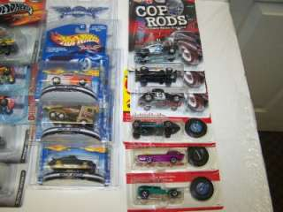 COP RODS Die Cast Cars LOT NEW Final Run Mattel Racing Select nascar
