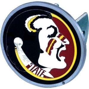 State Seminoles NCAA Pewter Trailer Hitch Cover