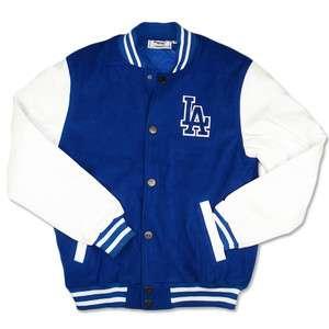 Majestic LOS ANGELES DODGERS Baseball MLB LETTERMAN JACKET
