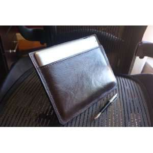 Leather Case for Ipad 2 w/ Solid edge Technology (Brown) Electronics