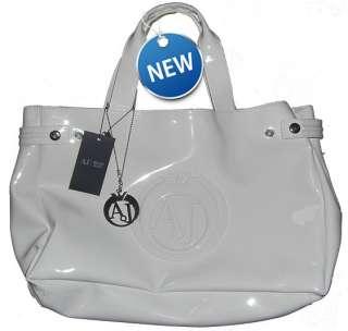 Giorgio Armani Handtasche Original aus Italien Lack Shopper Tasche