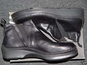 Mens Taxto Black Leather Shoes Boots Italy Size 12 New