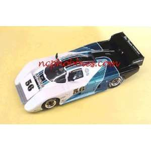 Monogram   March 83G Blue Thunder #56 Slot Car (Slot Cars