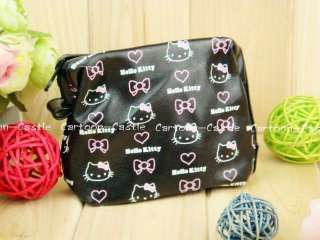 HelloKitty Makeup Cosmetic Pouch Bag Holder Purse 3679