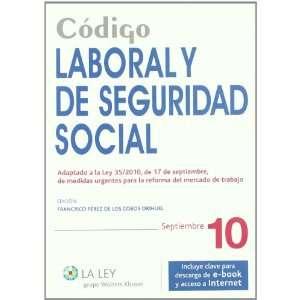Código Laboral y de Seguridad Social (9788481266467
