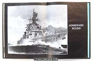 USS HALSEY CG 23 WESTPAC CRUISE BOOK 1976 1977