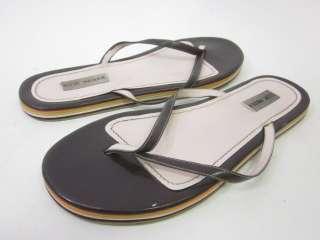 STEVE MADDEN Brown Leather Flip Flops Sandals Thongs 11