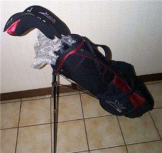 Brand New Mens Left Hand Golf Club Set, Putter, Stand Bag