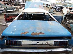 74 75 76 DODGE DEMON DART SPORT PLYMOUTH DUSTER TRUNK DECK LID