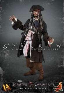 Hot Toys 1/6 Captain Jack Sparrow Pirates 12 movie figure