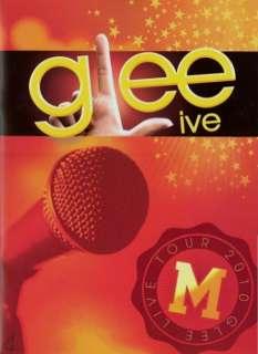 GLEE LIVE 2010 TOUR CONCERT PROGRAM BOOK