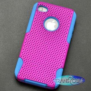 Apple iPhone 4S Case Phone Cover Skin Protector + Premium Film Screen