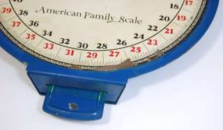 Vintage American Family Scale Antique Kitchen Produce Weight Scale