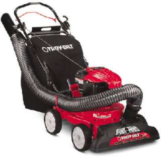 Troy Bilt Self Propelled Gas Powered Yard Vacuum / Chipper with 190CC