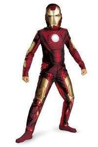Iron Man 2 Suit Mask Super Hero Boys Child Costume NEW