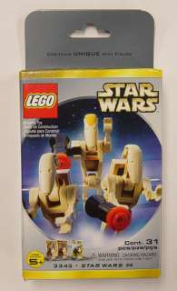 LEGO Star Wars Set #4 3343 Battle Droids Triple Pack