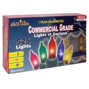 Brite Star Multi Colored Lights of Garland 37 550 00