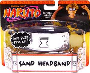 Naruto Headband Official Sand Village Head Band